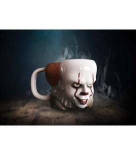 Paladone - It Pennywise - Tazza 3 D Mug - Stephen King Horror Movie - 330 Ml - 14 x 10,2 x 11,2 cm