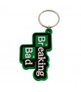 "BREAKING BAD - PORTACHIAVI/KEYRING "" LOGO BREAKING BAD"""