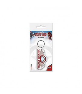 "CAPTAIN AMERICA -PORTACHIAVI/KEYRING ""CIVIL WAR TEAM STARK"""