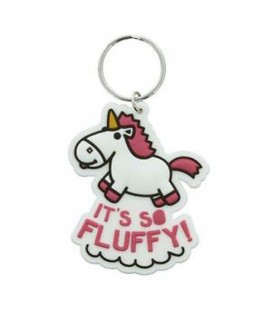 "MINIONS - PORTACHIAVI/KEYRING ""IT'S SO FLUFFY!"""
