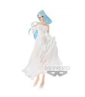 "ONE PIECE - ACTION FIGURE ""LADY EDGE NEFERTARI VIVI WEDDING DRESS"""