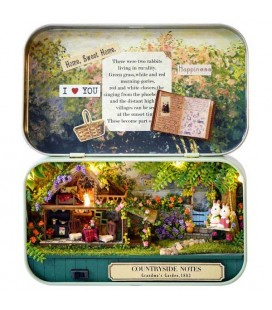"""BOX THEATRE N.4 """"COUNTRYSIDE NOTES"""" - UNASSEMBLED KIT"""