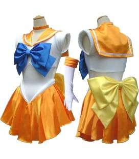 "PIDAK SHOP - COSPLAY ""MARINARETTA/SAILOR ARANCIONE"" TAGLIA M"