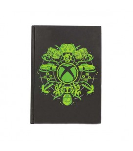 XBOX NOTEBOOK LIGHT UP LOGO QUADERNO LUMINOSO A BATTERIE INCLUSE 14,8 x 21 CM A5