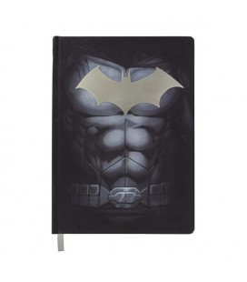 "DC COMICS - QUADERNO/NOTEBOOK COPERTINA IN METALLO/METAL COVER ""BATMAN"" A5"