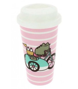 PUSHEEN THE CAT - TRAVEL MUG / TAZZA DA VIAGGIO - 0,60 LT