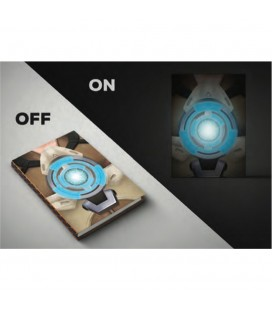 Overwatch - Notebook Light Up Logo Quaderno Luminoso A Batterie Incluse Tracer 14,8 X 21 Cm A5
