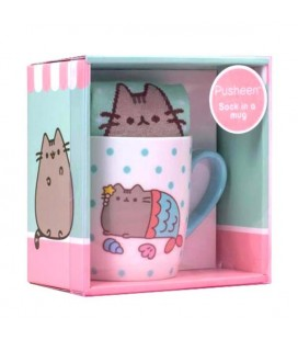 "PUSHEEN THE CATPUSHEENSOCK IN A MUG ""TAZZA E CALZINI"""