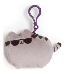 "PUSHEEN THE CAT - PELUCHE ""SUNGLASSES PUSHEEN WITH CLIP/PUSHEEN CON OCCHIALI DA SOLE"" 14CM"