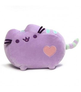 PUSHEEN THE CAT - PUSHEEN PLUSH/PELUCHE PURPLE/VIOLA 17CM