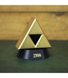 The Legend Of Zelda - Mini Lamp/Lampada 10 Cm Triforce Gold
