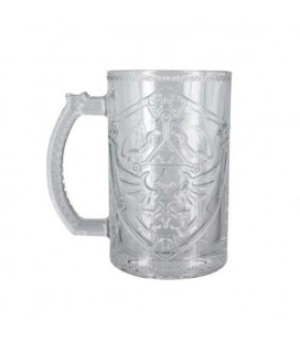 "THE LEGEND OF ZELDA - GLASS/BICCHIERE 400ML ""SHIELD"""