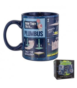"RICK AND MORTY - MUG/TAZZA 320ML ""PLUMBUS ISTRUCTION MUG"""