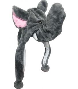 PIDAK SHOP - CAPPELLO HAT ELEFANTE PONPON ELEPHANT PIGTAILS - Costume