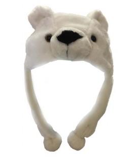 Cappello Cosplay Orso polare - Taglia unica da adulto - Pidak Shop