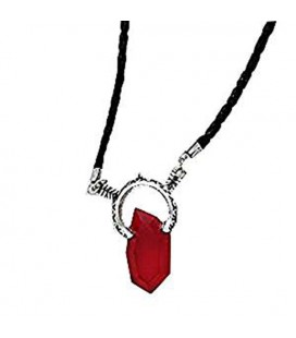 "PIDAK SHOP - NECKLACE/COLLANA ""PIETRA ROSSA/RED STONE"""
