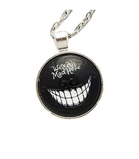 "PIDAK SHOP - NECKLACE/COLLANA ""GATTO SORRIDENTE/SMILING CAT"" 4CM"
