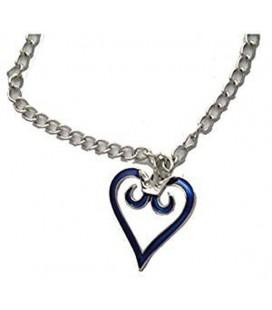 Collana cuore blu - Pidak Shop