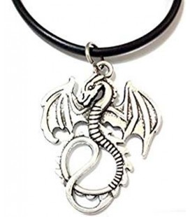 "PIDAK SHOP - NECKLACE/COLLANA ""DRAGO/DRAGON"" 5CM"