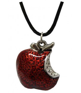 "PIDAK SHOP - NECKLACE/COLLANA ""MELA ROSSA/RED APPLE"""