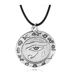 "PIDAK SHOP - NECKLACE/COLLANA ""OCCHIO EGIZIO/EGYPTIAN EYE"""