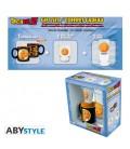 "DRAGON BALL - GIFT BOX - GLASS/BICCHIERE 29CL + SHOT + MINI MUG/TAZZA ""CRYSTAL BALL"""
