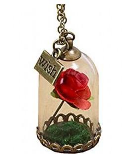 """Collana con """"Rosa nella teca"""" - Pidak Shop"""