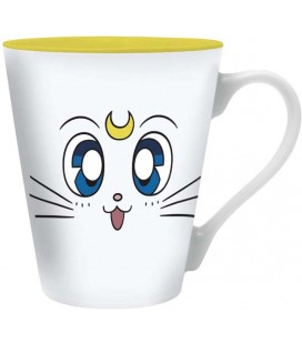 ABYSTYLE TAZZA ARTEMIS CAPPUCCINO DA 250 ML - CERAMICA - SAILOR MOON - OFFICIAL PRODUCT