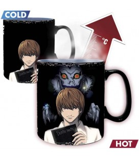 ABYstyle - Death Note - Tazza Cambia Colore con Calore - 460 ml - Kira & L- HEAT CHANGE MUG