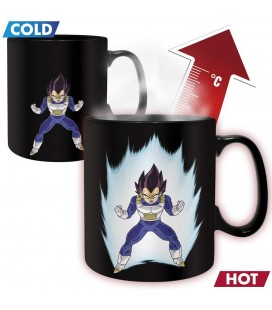 DRAGON BALL Z - TAZZA TERMICA/MUG HEAT CHANGE - KING SIZE 460 ML - VEGETA
