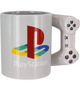 PLAYSTATION - 3D MUG / TAZZA 3D 400ML CONTROLLER joypad PLAYSTATION Ceramica 15 cm