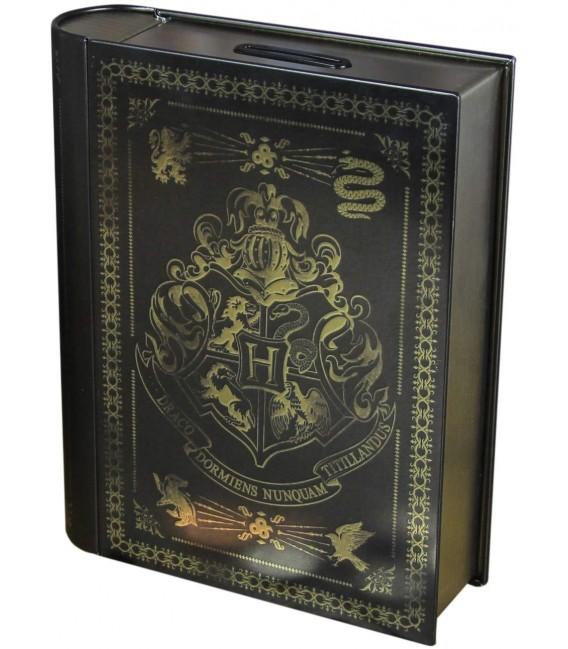 XXXSALVADANAIO HARRY POTTER - MONEY BOX BANK BOOK / LIBRO HOGWARTS - METAL 15 X 18 CM