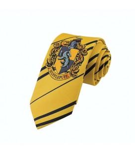 Cinereplicas - Harry Potter - Cravatta Bambini - Licenza Ufficiale - Casa Tassorosso - Giallo e Nero