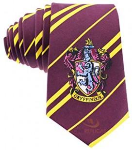 Cinereplicas - Harry Potter - Cravatta Unisex - Licenza Ufficiale - Casa Grifondoro - Taglia Unica – 100 % Microfibra