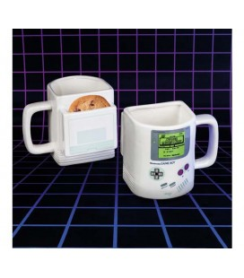"NINTENDO GAME BOY - TAZZA CON VANO BISCOTTI/MUG WITH COMPARTMENT FOR COOKIES 350 ML ""GAME BOY"""