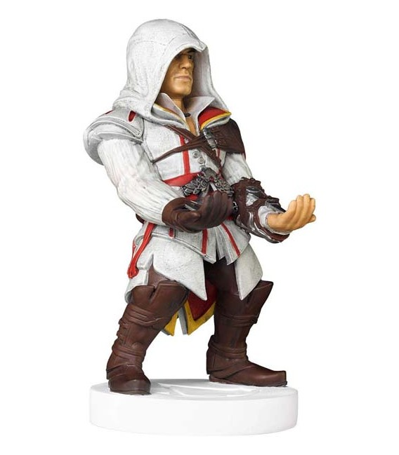 "20 CM ASSASSIN'S CREED EZIO - GADGET - CHARGER CARICATORE TELEFONO PHONE AND CONTROLLER ""SONIC"" XBOX PLAYSTATION"
