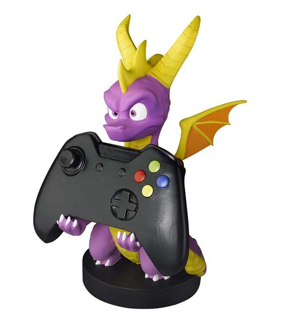 """20 CM SPYRO THE DRAGON - GADGET - CHARGER CARICATORE TELEFONO PHONE AND CONTROLLER """"SONIC"""" XBOX PLAYSTATION"""
