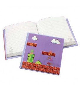 "SUPER MARIO BROS - NOTEBOOK/ QUADERNO ""GAME"""