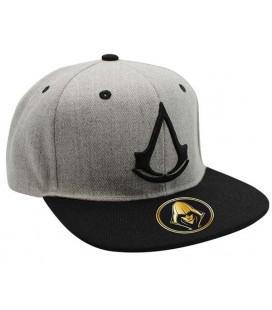ABYstyle -Assassin's creed crest - Cappellino Snapback - - Grigio e nero