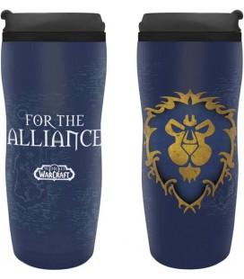 ABYstyle - World of Warcraft - Tazza da Viaggio - 35 cl - Alleanza Alliance