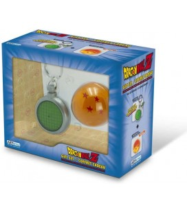 ABYstyle - Dragon Ball - Gift box - Portachiavi Radar + Sfera di Cristallo - set pack combo