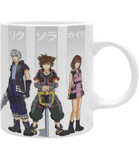 Abystyle - Disney - Kingdom Hearts - Tazza - 320 Ml - Eroi - Sora - Kairi