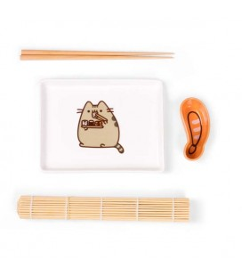 PUSHEEN THE CAT - Set da Sushi da 5 Pz - Kawaii sushi set - Japan food