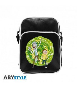 "RICK AND MORTY - TRACOLLA/SHOULDER BAG ""PORTAL"""