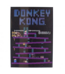 DONKEY KONG - LENTICULAR NOTEBOOK / QUADERNO - 15 CM (L) x 21 CM (A) x 2 CM (D)