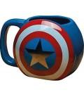 CAPTAIN AMERICA - 3D SHIELD MUG tazza ufficiale
