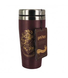 "HARRY POTTER -TRAVEL MUG /TAZZA DA VIAGGIO 400 ML ""HOGWARTS RED"""