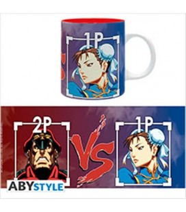Street Fighter- Mug/Tazza 320Ml Bison Vs Chun-Li