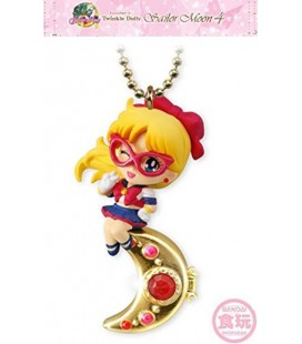 "SAILOR MOON - KEYRING/PORTACHIAVI ""SAILOR V & LEGENDARY SILVER CRYSTAL"""