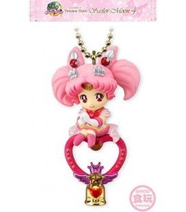 "SAILOR MOON - KEYRING/PORTACHIAVI ""SUPER SAILOR CHIBI MOON & CRYSTAL CARILLON"""